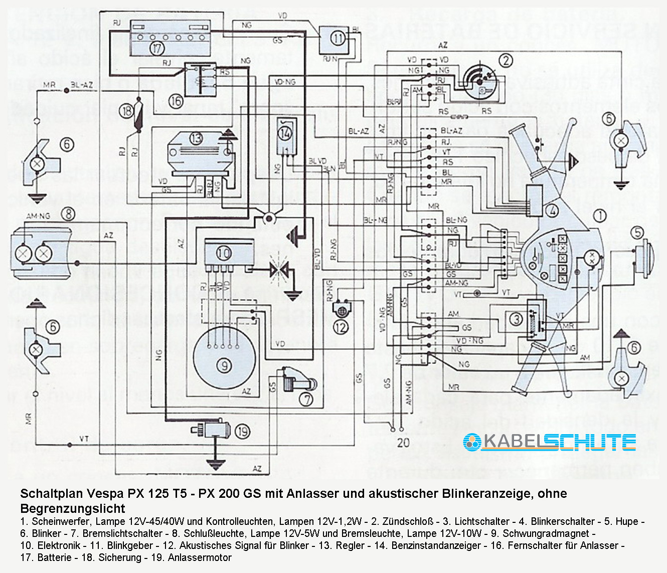 Vespa P200 E Model Wiring Diagram moreover Wiring Diagram 1978 Vespa Piaggio besides Window Wiring Diagram 1999 Vw Beetle in addition  on vespa p200 wiring diagram